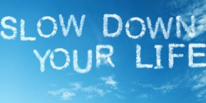 conscious living coaching slowing down blog post rj nuis